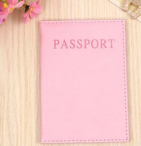 Passaporto Titolare di Biglietto Portafoglio Portaborsa ID carta di credito di stoccaggio borsa da viaggio raccoglitore del passaporto