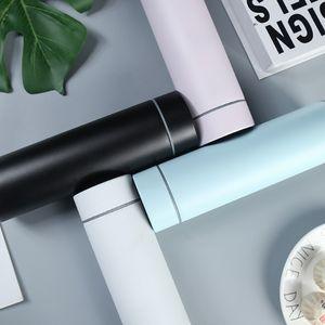 2020 Amazon bestseller stainless steel leak proof smart shaker water bottle with led temperature sport flask