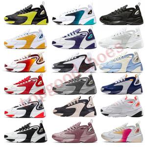 M2k Tekno Zoom 2K Homens Mulheres formadores sapatos da moda 2000 da raça Red Black White Triplo Preto roxo dos azuis marinhos Running Shoes Sneakers