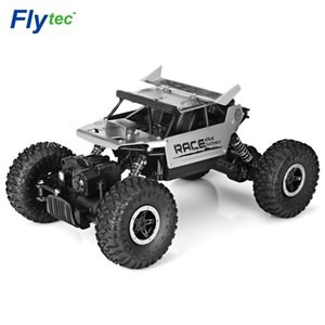 Rc Car Flytec 9118 1  18 2 .4g 4wd Alloy Rock Crawlers Rc Climbing Car High Speed Racing Car Clamber Off -Road Vehicle Toy