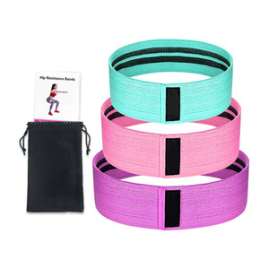 Menwomen Hip Resistance Bands Leg Exercise Elastic Bands