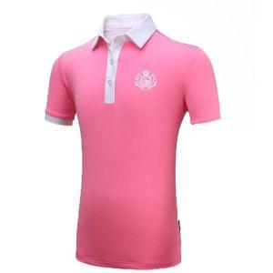 Pgm Mädchen Quick-Dry Short Sleeve Golf-T-Shirt Kinder Tops Sportkleidung Sommer Tees Mädchen Breathable dünne Golf-Kleid AA60454
