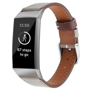 밴드 Fitbit 충전 3 밴드 교체 가죽 시계 팔찌 Fitbit 충전 3 Correa Fitbit 시계 스트랩 63007