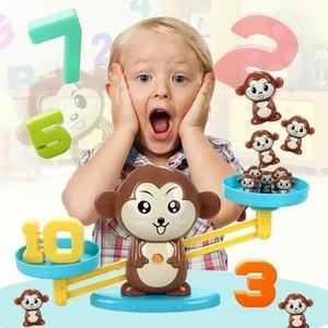 2020 Новейшая Личность Прохладные Игрушки Обезьяна Баланс Прохладная Математическая Игра Для Девочек Мальчиков Весело Образовательные Животные Цифровой Баланс Игрушка