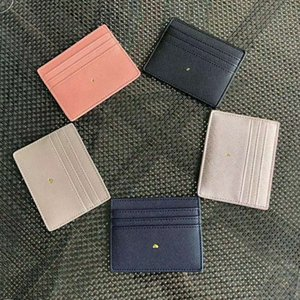 Rose Porte-cartes Sugao femmes portefeuille d'impression KatSpad sacs à main d'embrayage de luxe sac à main deisgner petit carré de couleur imprimé beaucoup