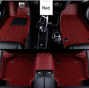 Custom Car Bodenmatte für Mercedes W212 GLA W245 Mercedes-Benz W211 W169 ML CLA W204 GLE Wasserdicht Zubehör Teppich