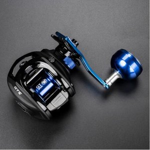 TOMA Baitcasting Reel Fishing Bait Casting 7.0:1 11+1BB Ball Bearings Carbon Fiber Drag System Metal Knob Long Handle