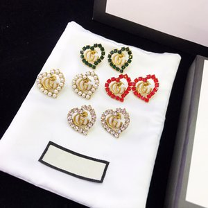 Мода дизайн, новая мода, двойные г серьги, 925 серебряная игла, анти аллергия, простой, маленький и модно