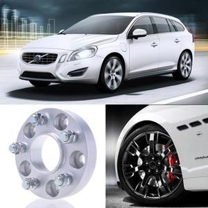 2шт 25 мм толщиной PCD 5x108 63.4 CB алюминиевые колесные распорки адаптеры для Volvo V60