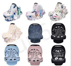 In Baby-Breast Nursing Cover Cover Feeding 11 Arten Baby Carseat Canopy Spaziergänger Canopy Stretchy Spaziergänger Sitzabdeckung Baby-Wraps
