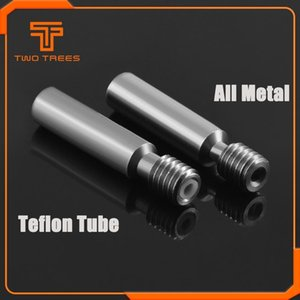 Computer & Office 5PCS lot MK8 M6 Throat with Teflon 6*30mm Stainless Steel Thread Longer Feeding 1.75mm Filament 3D Printers Parts