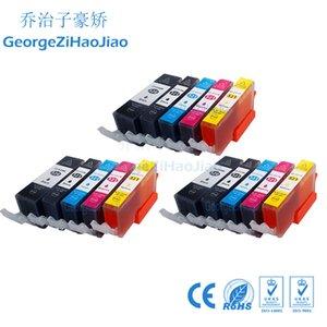 3 setleri 520XL Uyumlu PGI520 CLI521 Mürekkep Kartuşu Canon Pixma MP540 MP55 MP630 MP640 MP980 için PGI-520