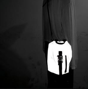 2019 1017 Аликс STUDIO LOGO Tactical кожаный пояс Высокое качество дизайнера 3M отражение моды бренд мужчин и женщин рюкзак