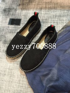 Summer 2020 new high-quality luxury men's casual shoes, woven embroidery fisherman's shoes, loafers one pedal fashion casual wild fdzhlzj