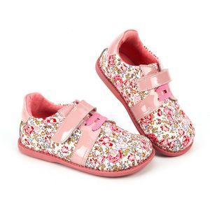 Tipsietoes 브랜드 고품질의 패션 패브릭 스티칭 아동 소녀 신발 2018 가을 새로운 도착 Y190523