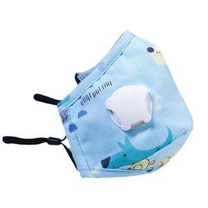 밸브 아이를 호흡으로 최고의 품질 5 층 얼굴 마스크 안티 - 스플래시 먼지 세척 재사용 편안하고 더 안전한 아이들이 보호 PM2 마스크
