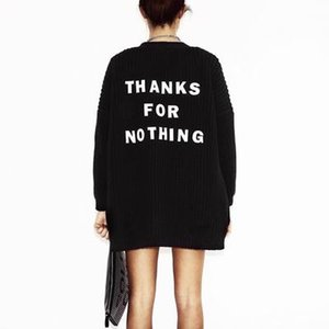 여자 패션 편지 자수 카디건 스웨터 Feminino 여성 느슨한 겨울 따뜻한 스웨터 여성 캐주얼 롱 가디건 탑