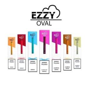 EZZY OVAL Disposable Device Pod Starter Kit Upgraded 280mAh Battery 1.3ml Cartridges Vape Pen VS MR VAPOR eon St!k Bidi