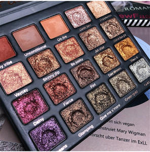 2019 BIRD ROMANTIC 20 colores brillo paleta de sombra de ojos en polvo sedoso maquillaje paleta de la naturaleza ahumado mate de maquillaje sombra de ojos