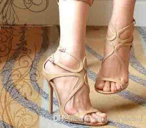 Luxe Designers Marque Sandales de mariage pour femme J-M Lance Blet Sandales, femmes de soirée de mariage Sandales Talons femmes sexy robe 35-42