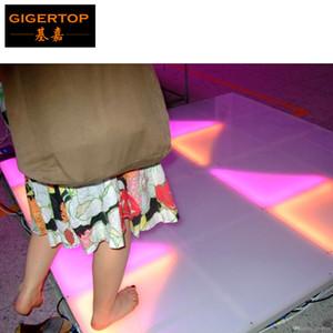 Freeshipping RGB Led Dans Kat 100cm * 100cm Boyut 7 DMX 512 Kanallar Akrilik Sahne DJ Parti Dans Zemin / Gece Kulübü Dans Zemin