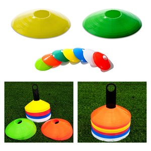 10 Pcs Sinal Obstacle Disc Cone Football Field Flying Saucer Placa Inline Skating / Skate / Futebol / Tráfego Marcadores Equipment