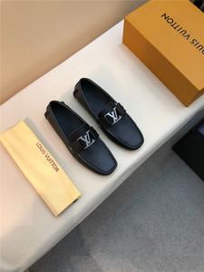 Scarpe formali maschili Vendita calda 2019ss Vera pelle Business scarpe da lavoro Morbida suola Confortevole scarpe casual da ufficio