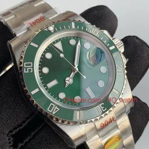 Heiße Selling-automatische mechanische Kalender-Uhr 40mm Keramik-Lünette Luminous Tauchen Sportuhr wasserdichte 904L Steel Belt