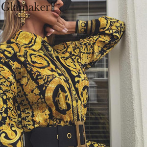 Fashion-Sexy paisley vintage print gold dress Women holiday beach casual dress Summer elegant short party club large size