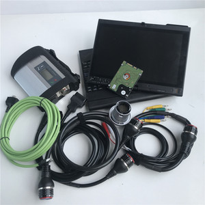 MB SD Connect C4 Scanner with hdd d-as system in x201t tablet i7cpu laptop win7 for mb star c4 cars and trcuks diagnose