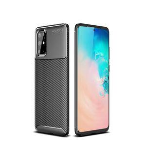 Подхожу для Samsung S20 мобильного телефона случае s20plus Beetle углеродного волокна ТПА все включены S20 Ультра матовых наушников мягкой оболочки
