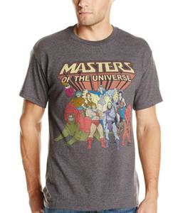 Drôle hommes t shirt nouveauté tshirt femmes hommes il homme maîtres de l'univers famille groupe vintage t shirt animaux