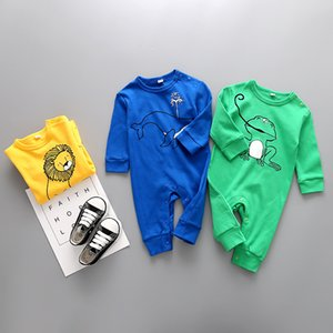 2020 Spring Autumn Baby rompers baby clothes Kids long sleeve underwear cotton boys girls Clothes New Newborn jumpsuits