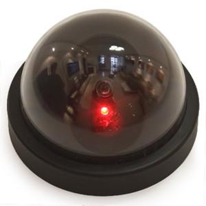 Dome Güvenlik Kamera yüksek Simülasyon Monitör Sistemi Kukla Dome Ev Mağaza Ofis için Led Işık Sahte