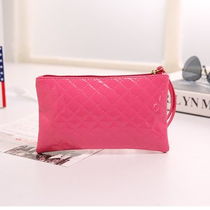 Women's wallet PU leather fashion coin purse mobile phone key storage bag hand bag cosmetic portable zipper Billetera