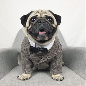 Formal Dog Clothes Wedding Animal de Estimação Dog Suit Pets Cães Roupas Para Cães Pets Supplies Xs-xxl Pet Vestuário Puppy Outfit Pug Bulldog