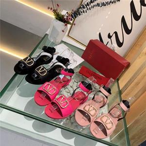 mujeres de la plataforma de época sandalia zapatos de diseño de lujo de diseño Alpargatas luxe zapatillas sandale patrón de litchi size35-41