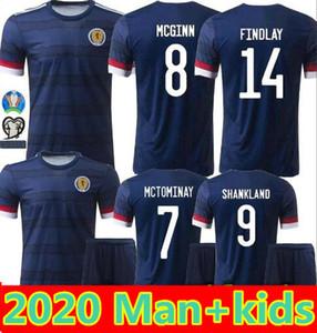 2020 Schottland Fußball-Trikot Euro Cup 2020 Schottland Fußballhemd ROBERTSON FRASER NAISMITH MCGREGOR CHRISTIE FORREST McGinn Camiseta futbol
