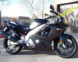 Coprochement noire pour Yamaha YZF600R Thundercat 1997-2007 YZF-600R YZF 600 R ABS Plastique Sport Body Body Kit de carénage