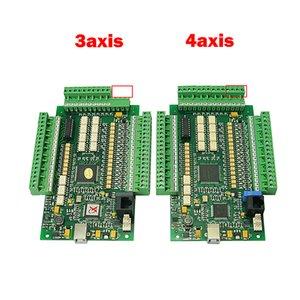 USB CNC Mach3 гравировальный станок фрезерный E-CUT motion control card 3 4 оси