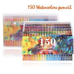 150 Water Colour Pencils Watercolour Pencils For Aquarelle Drawing