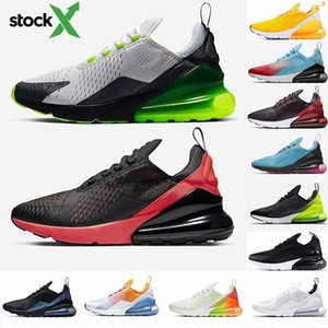 2020 New Cushion 270 Sports Sneakers Mens Running Shoes CNY Rainbow Heel Trainer Road Star BHM Iron Bred Women 27C Sneakers Size 36-45