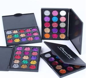 CmaaDu brand makeup  palette  eyeshadow 15 Color Glitter Eye Shadow Diamond Sequins Shiny Eyeshadow Palette Branded Shining Eyes Makeup Pal