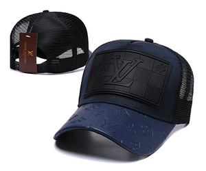 İyi Tasarım Yeni marka erkek tasarımcı şapka snapback beyzbol kapaklar lu xury erkekler kadınlar moda şapka yaz trucker casquette nedensel top kap