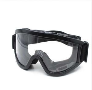 Wholesale-Man / donne di motocross Occhiali Occhiali Ciclismo Eye Ware Off Road Safety Helmets Occhiali sport esterno di anti nebbia per il motociclo