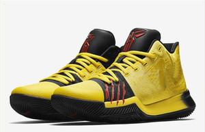 Лучшее качество Kyrie # 3 # 4 # 5 Брюс Ли обувь Классического Баскетбол обувь Mamba Менталитет Подпись Обувь Спорт на открытом воздухе кроссовки 11 цветов