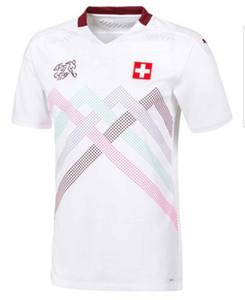 2020 2021 스위스 maillots 드 발 축구 유니폼 국가 대표 팀 2020 2021 축구 남성과 어린이 셔츠 Camiseta 드 푸 웃