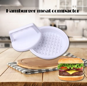Carne strumenti di carne stampo tortino cucina hamburger di manzo patty stampaggio bianco hamburger di plastica facendo artefatto pollame