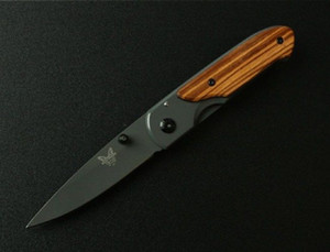 Manual de aço inoxidável Benchmade DA44 lançamento Mini bolso faca dobrável bolso cortador de campismo faca 10pcs ADRU