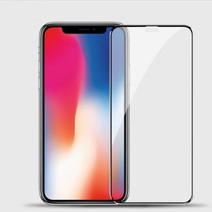 Tempered Glass Screen Full Front Protector For iPhone 6 7 8 plus xr xs max phone case Free DHL
